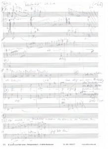 Winterbild-Harfenkonzert