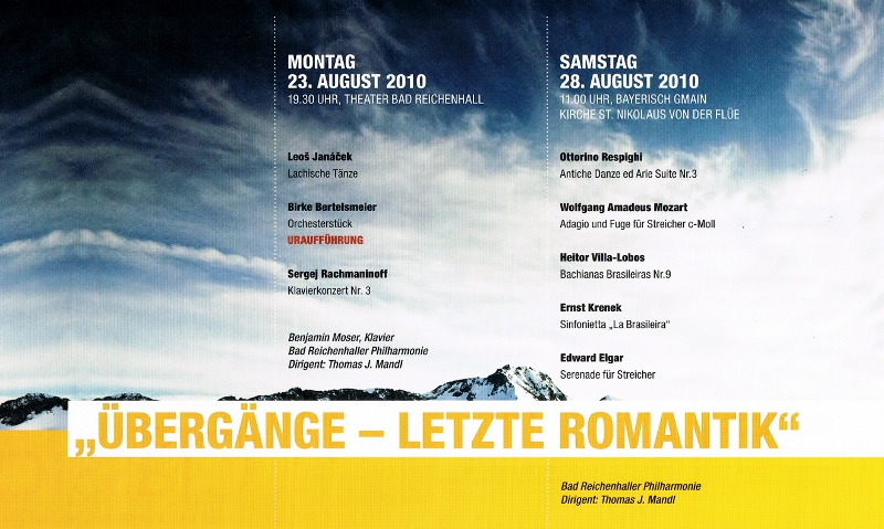 Alpenklassik und Philharmonie