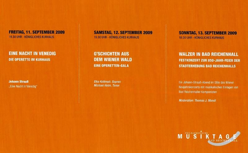 Johann Strauß Tage Programm
